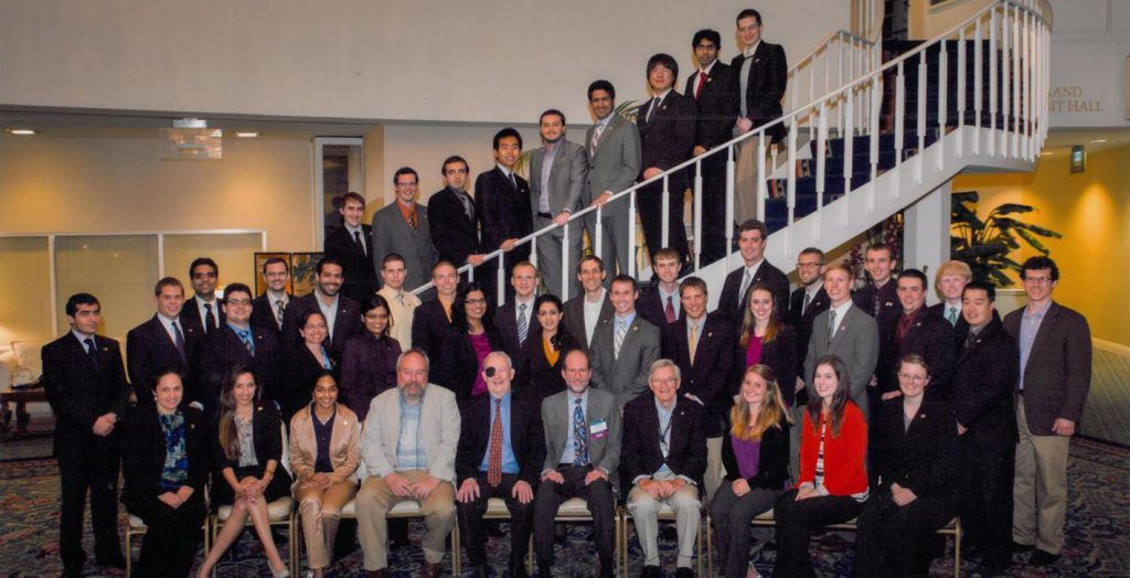 Virginia Tech geotechnical engineering students at Geo-Institute Conference